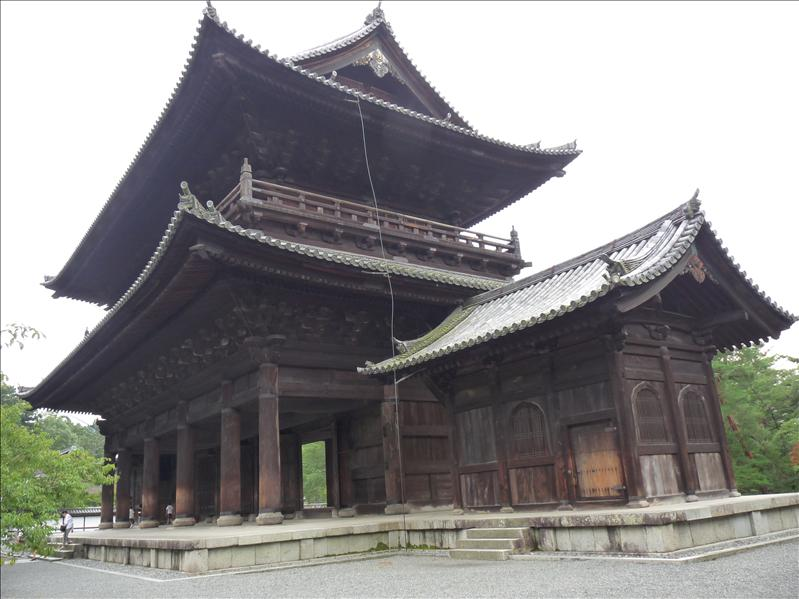 nanzenji tower structure