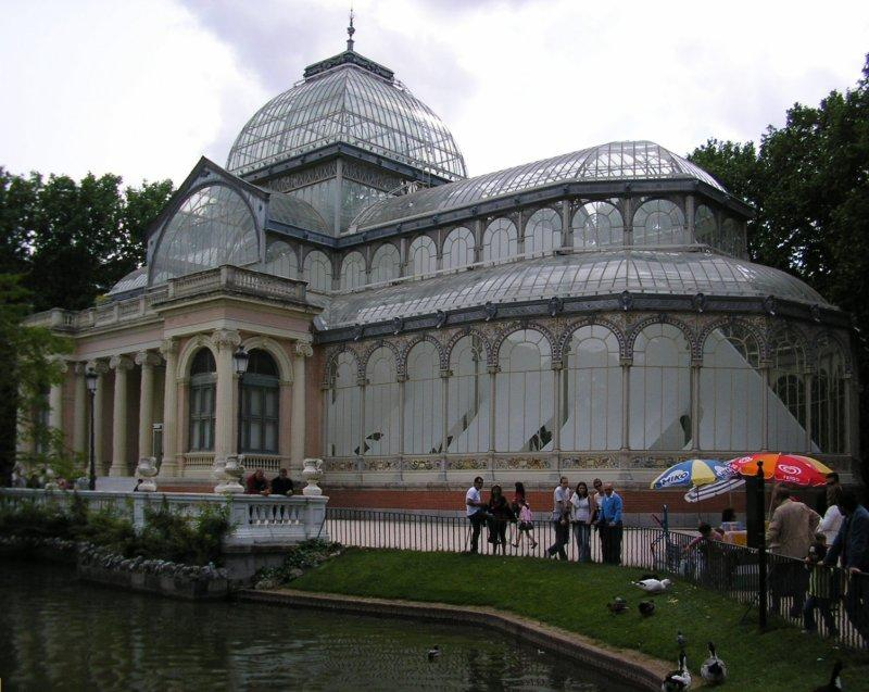 which has its own crystal palace.