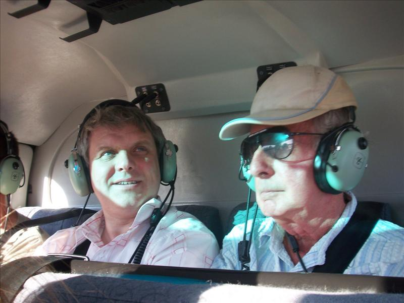 first time in a helicopter for many of us