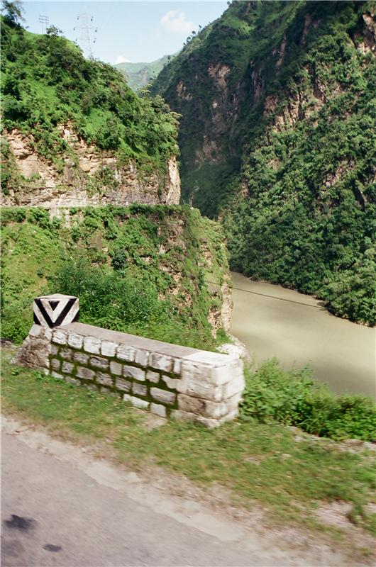 entering Kullu valley