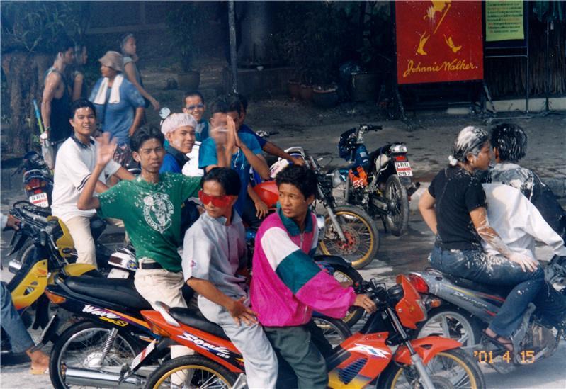 泰国、泼水节