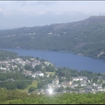 View of LLanberis and Padarn Lake