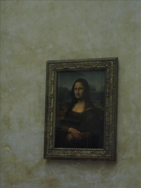 the MONA LISA!