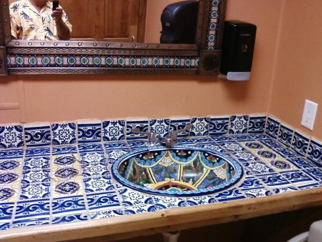 mens room sink... simply outstanding