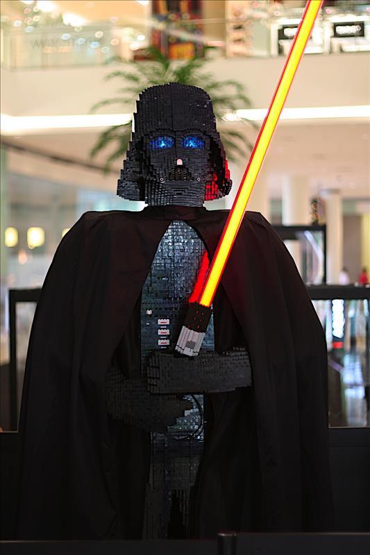 Star Wars - real size Darth Vader