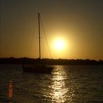 sunset @ straddie