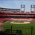 Inside the new Busch Stadium in St. Louis, Missouri