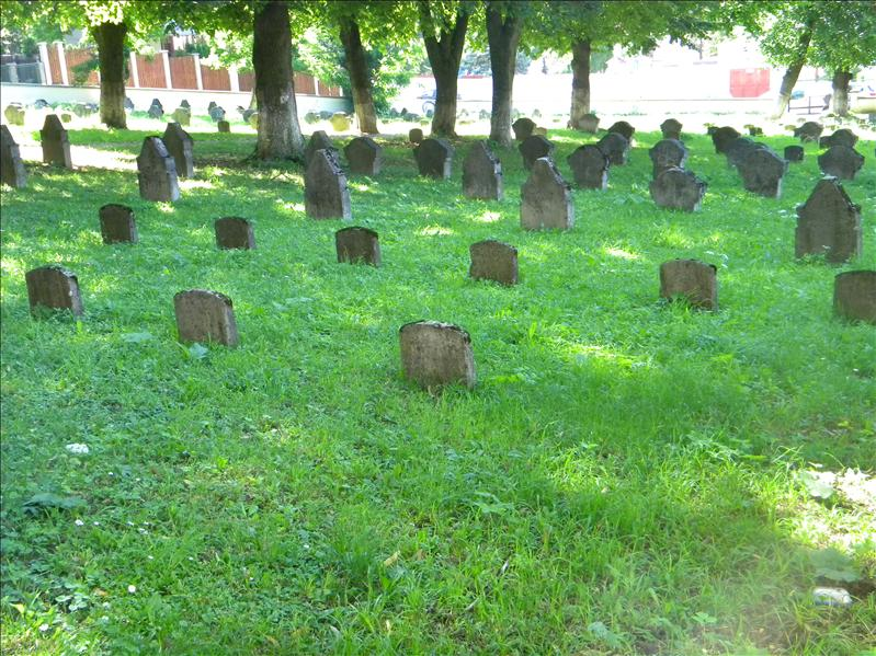 Old cemetery in downtown Brasov