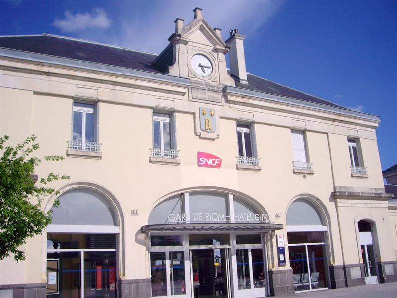 火車站 準備前往VICHY