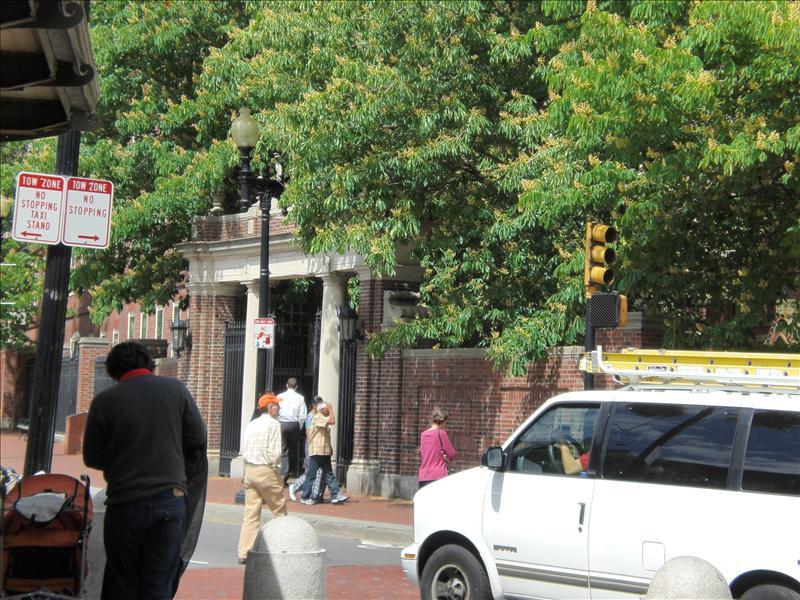 Harvard ingang
