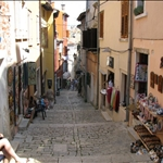 ... with its narrow streets.