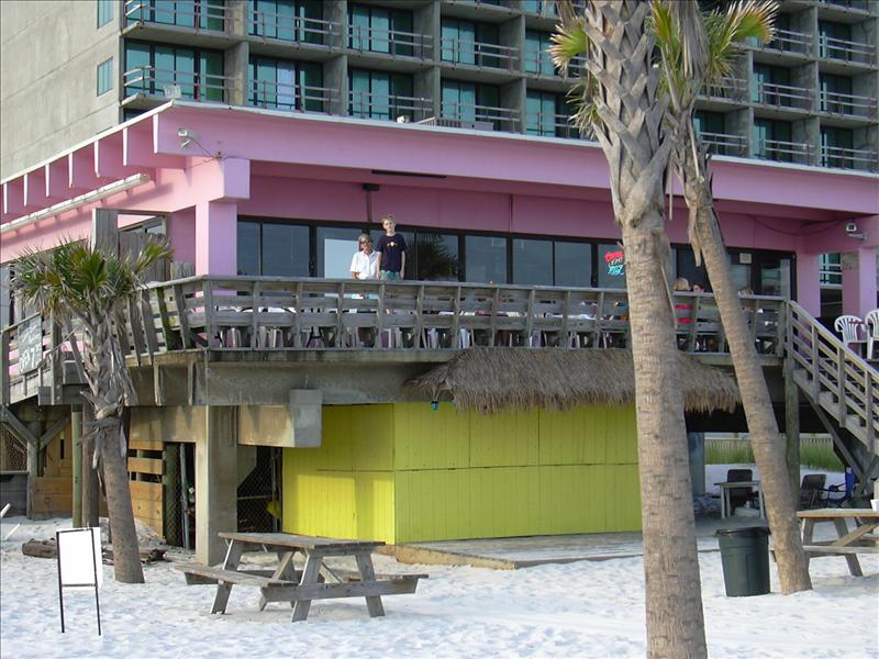 The Pink Pony bar and grill, Gulf Shores, Alabama, usa