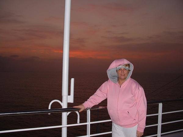 Marilyn,at sunset