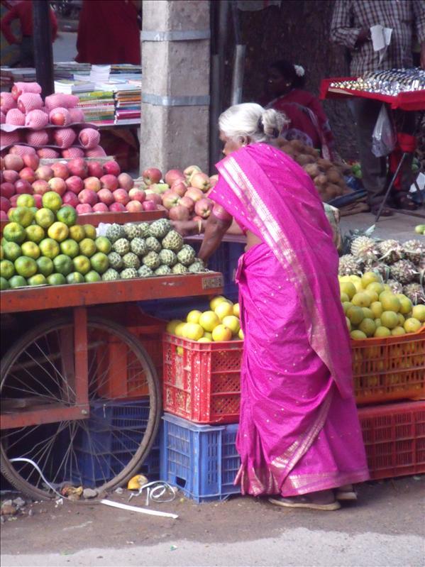 Stop! Thief!... This is Malleshwaram, where Gargi's Mum lives. Beautiful neighbourhood.