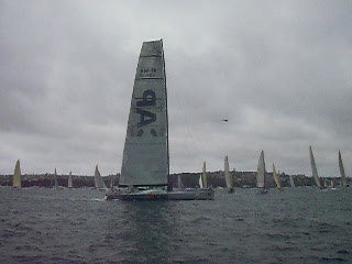 Sydney-Hobart boat race - Boxing Day 2009.avi