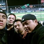 Boys at the ball game
