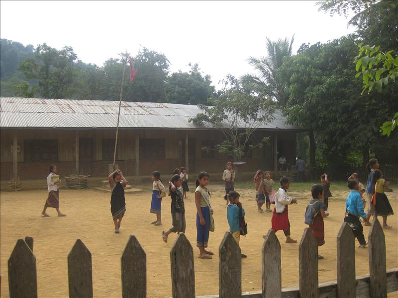 School in Khmu village