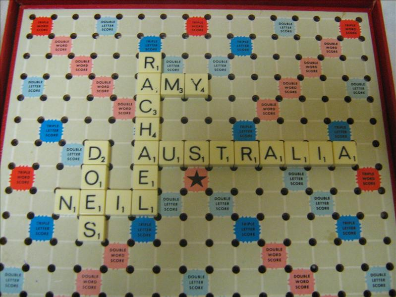 Rachael, Amy Neil does Australia
