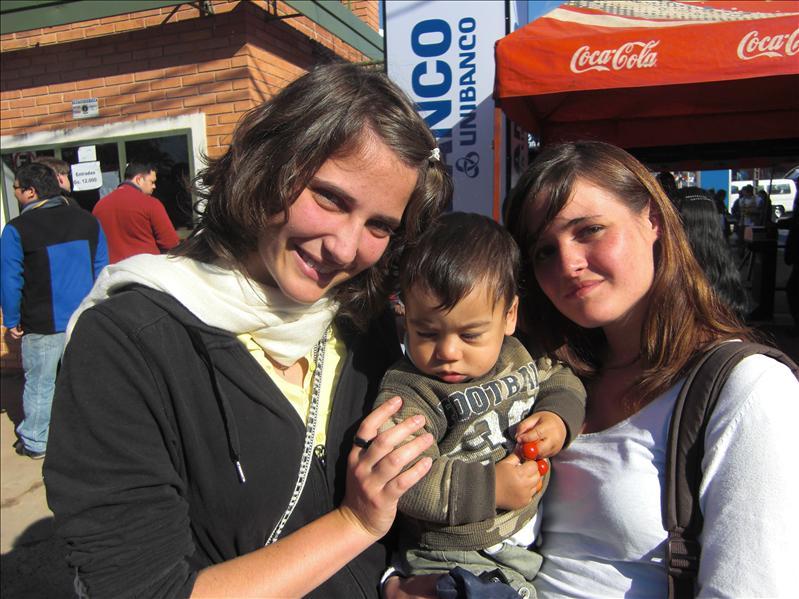 Mit Anne und Giovanni auf der Expo