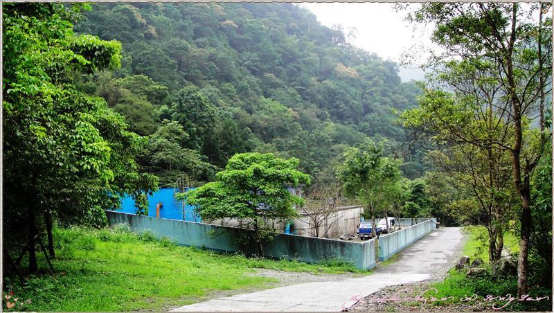 入口處的水源保護區