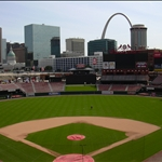 The new Busch Stadium in St. Louis, Missoui