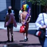 Some gay dudes - SF Pride Festival