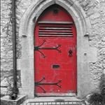 """The first of many """"Irish doors"""" I"""