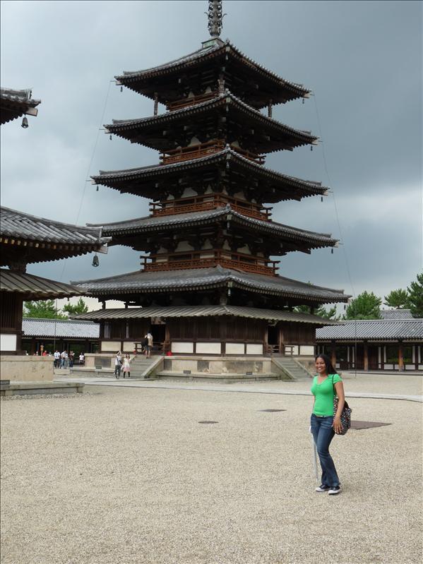 tall pagoda at .. temple