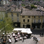 The market square from the belfry.