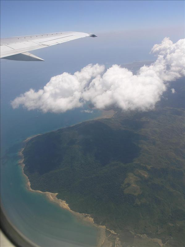 Madagascar from aircraft