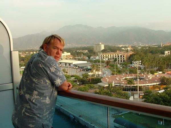Mark overlooking Puerta Vallarta