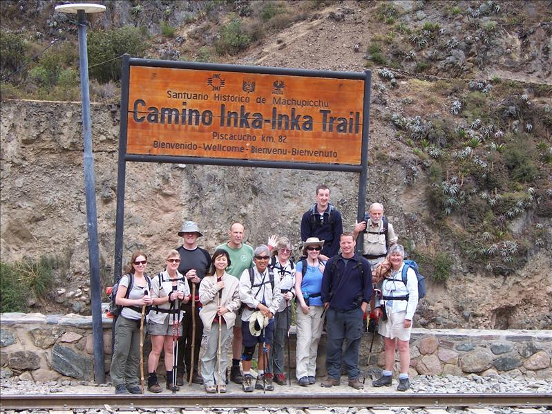 BEGINNING OF THE INKA TRAIL - ARE WE ALL READY?