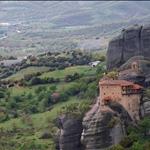 Meteora, St.Nikolai Anapausus Monastery, Greece
