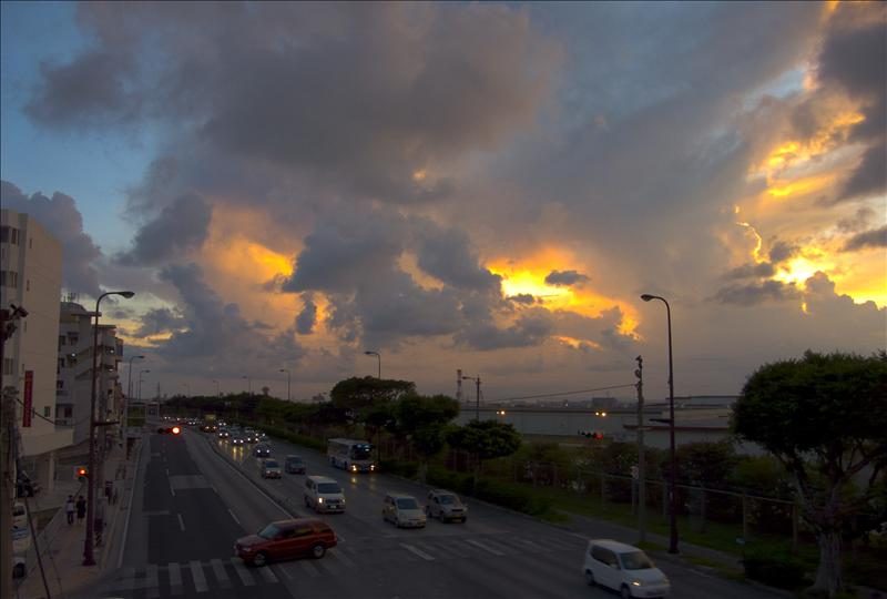 Sunset in Naha