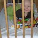 Gutten i bur
