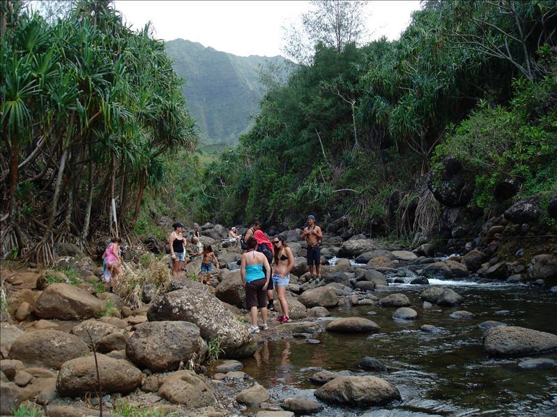 Kauai - Hiking tour, Hanakapia Beach