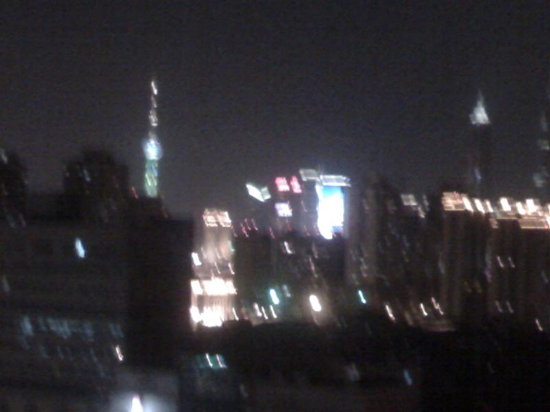 Night scene  in Shanghai