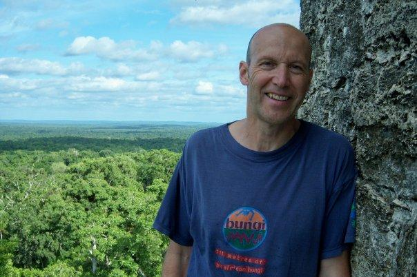 TIKAL, GUATEMALA - ON TOP OF TEMPLE V