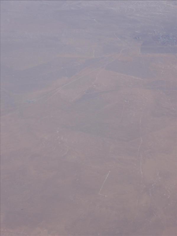 desert tundra near beijing/mongolia