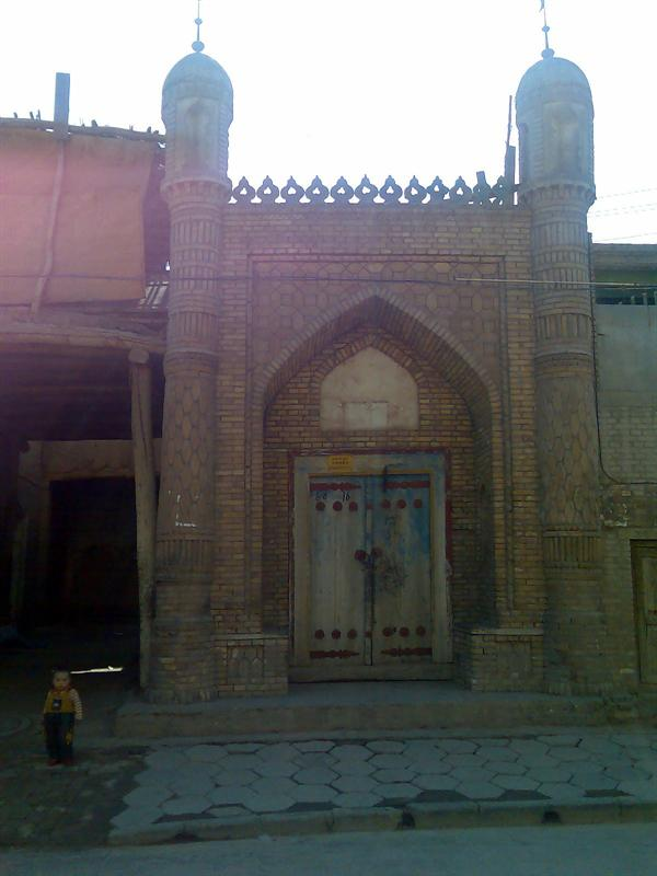 A mosque, Kashi