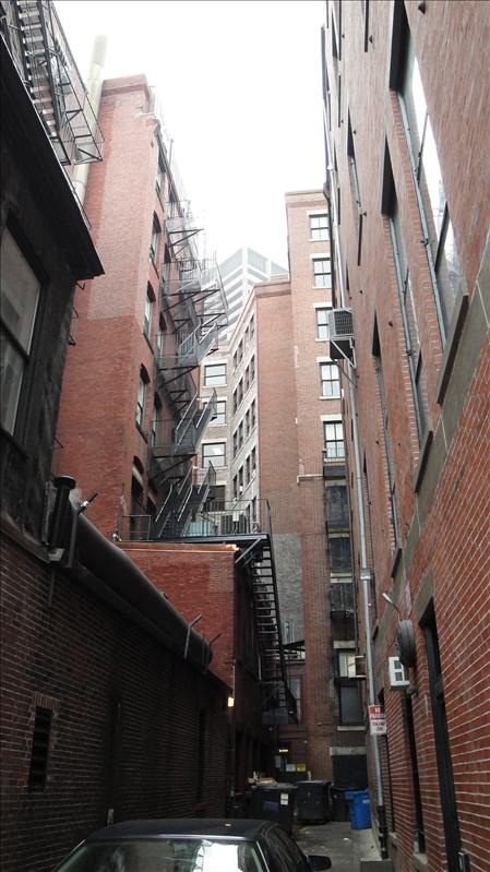 One of Boston's many alleys...