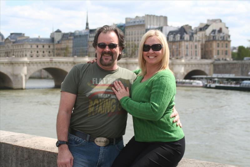 Jen & Dan by the Seine