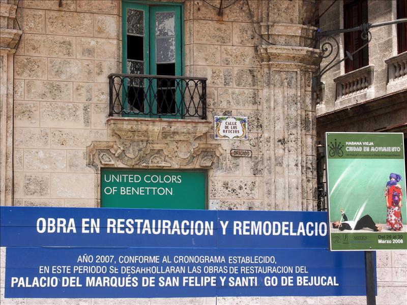 Benetton Restauracion?