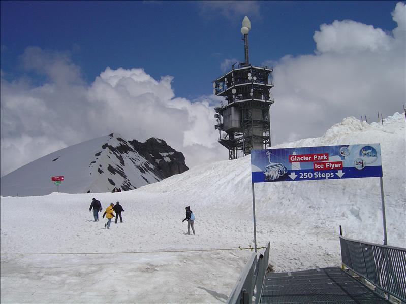 Top of  Mt. Titlis