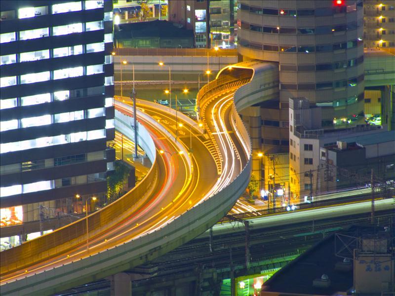 Osaka at Night!
