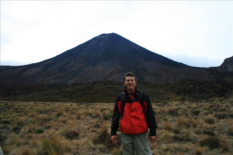 On the Tongarriro Alpine Crossing Hike - Mount Doom.