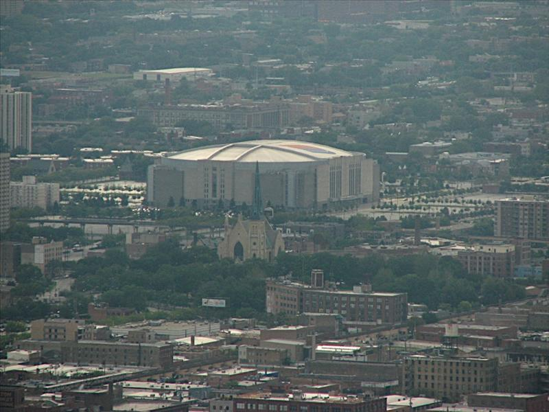 John Hancock Observatory - Chicago, United Center, Home of the Bulls