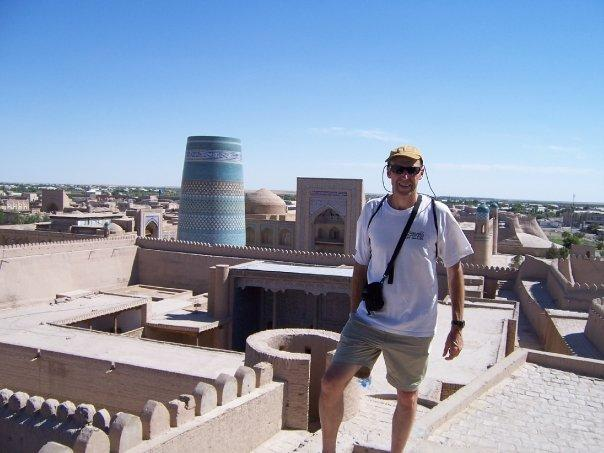 ON THE ROOFTOP IN KHIVA