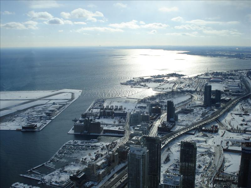 Toronto seen from CN Tower.3
