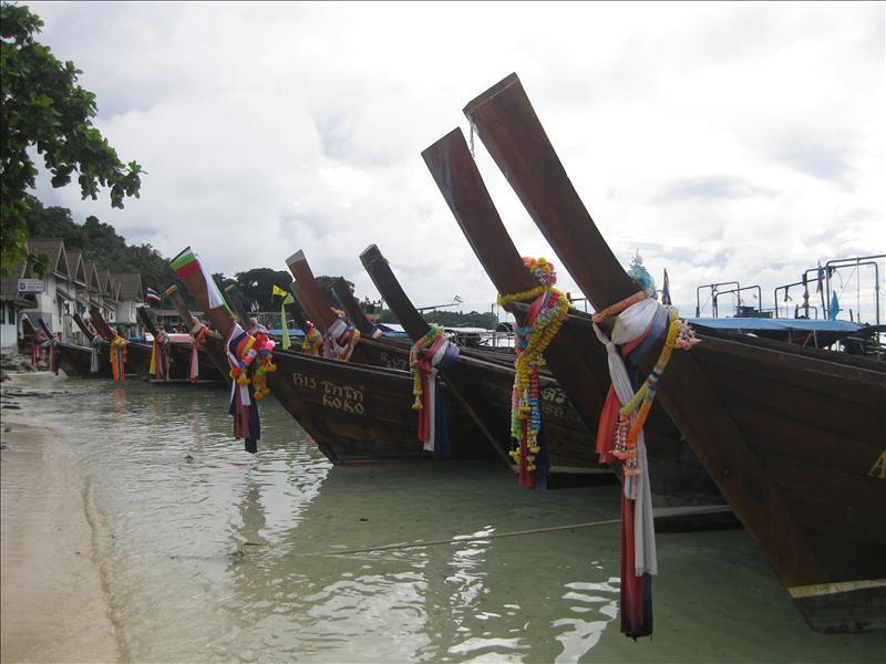 Long Boats on Ko Phi Phi